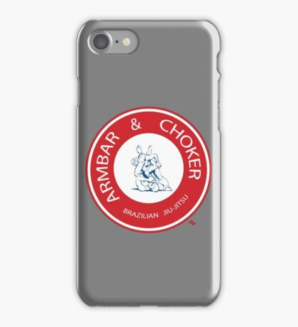 Armbar & Choker BJJ iPhone Case/Skin