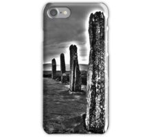 Ring of Brodgar Right iPhone Case/Skin