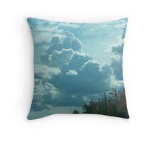 Infancy of Storm Throw Pillow