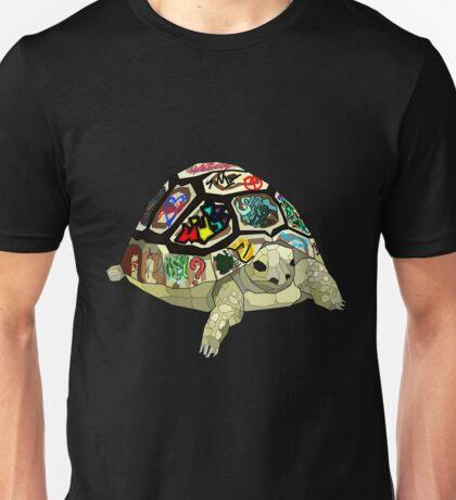 Graffiti tortoise Unisex T-Shirt