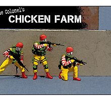 Raid on the Colonel's chicken farm! by TimConstable