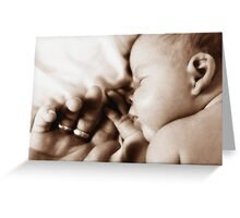 Baby Bliss Greeting Card