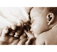 Baby Bliss Photographic Print