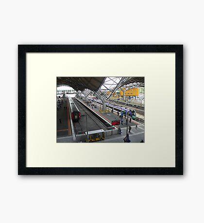 Southern Cross Station 2006  Framed Print