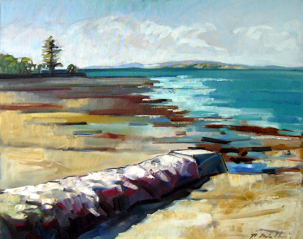 Bay Sketch Large by Paul  Milburn
