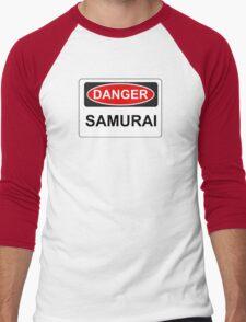 Danger Samurai - Warning Sign T-Shirt