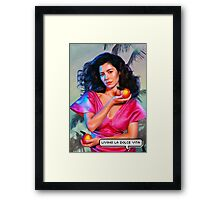"""""""Marina and the Diamonds - FROOT/Living la dolce vita"""" Framed Print"""