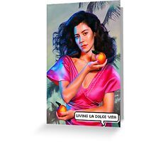 """Marina and the Diamonds - FROOT/Living la dolce vita"" Greeting Card"
