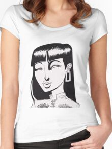 Look Women's Fitted Scoop T-Shirt