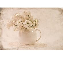 A Jug Of Lilacs Photographic Print