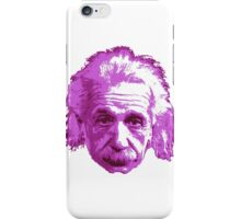 Albert Einstein - Theoretical Physicist - Pink iPhone Case/Skin