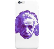 Albert Einstein - Theoretical Physicist - Purple iPhone Case/Skin