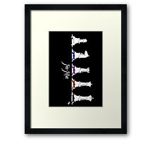 Human Chess Framed Print