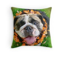 Halloween Greetings Throw Pillow