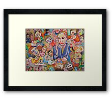 Welcome To Hell Here Is Your Headset Framed Print