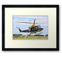 Bell 412EP Griffin HT.1 ZJ235/I G-BXBF Framed Print