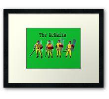 The McMafia Framed Print
