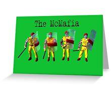 The McMafia Greeting Card