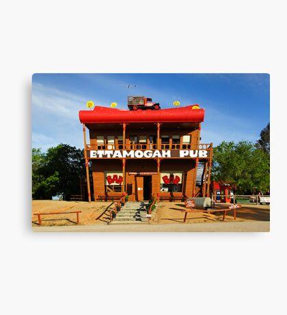 Ettamogah Pub at Albury Canvas Print