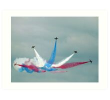 The Red Arrows: Enid Split Art Print