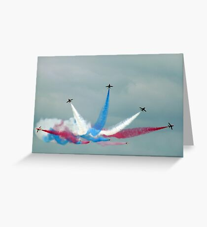The Red Arrows: Enid Split Greeting Card