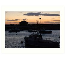Harbour Lights Art Print