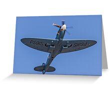 Supermarine Spitfire PR.XIX PS915  Greeting Card