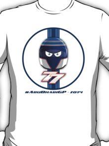 VALTTERI BOTTAS_2014_HELMET_Abu Dhabi T-Shirt
