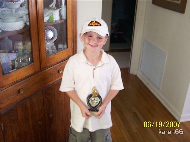 Julian Wins His First Golf Trophy by karen66