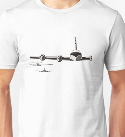 Vintage/Retro Plane/Aviation Art Unisex T-Shirt