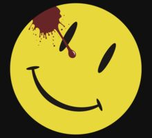 Watchmen Smiley Face T-Shirt
