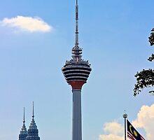 The KL Tower II - Kuala Lumpur, Malaysia. by Tiffany Lenoir