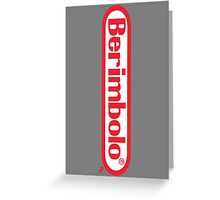 Berimbolo/Nintendo Greeting Card