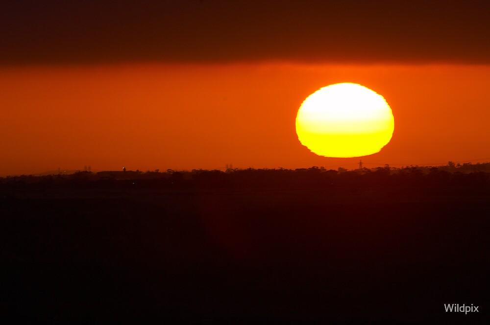 Melbourne Sunrise by Wildpix