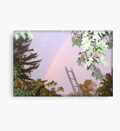 I Wanted to Paint You A Rainbow Canvas Print