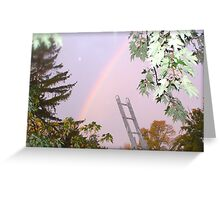 I Wanted to Paint You A Rainbow Greeting Card