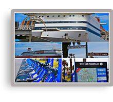 MELBOURNE WATERFRONT  Canvas Print