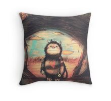 Wild Precious Life [ver. 2] Throw Pillow