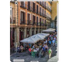 Toledo street in Madrid iPad Case/Skin