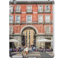 Plaza Mayor of Madrid iPad Case/Skin