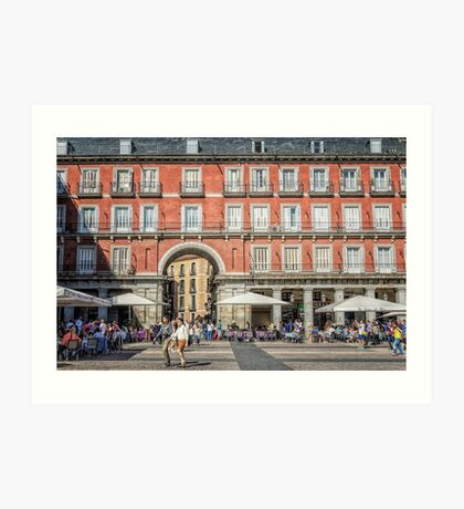 Plaza Mayor of Madrid Art Print