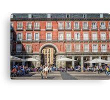 Plaza Mayor of Madrid Canvas Print