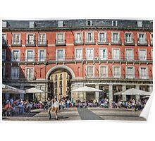 Plaza Mayor of Madrid Poster