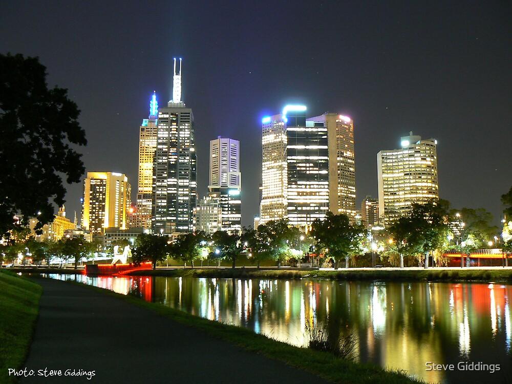City Lights by Steve Giddings