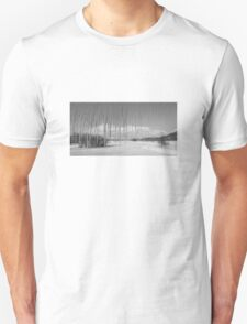 Where have the Greens gone (B&W version) Unisex T-Shirt