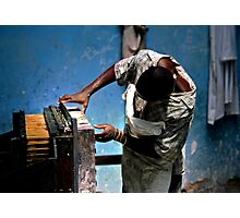 Work Photographic Print
