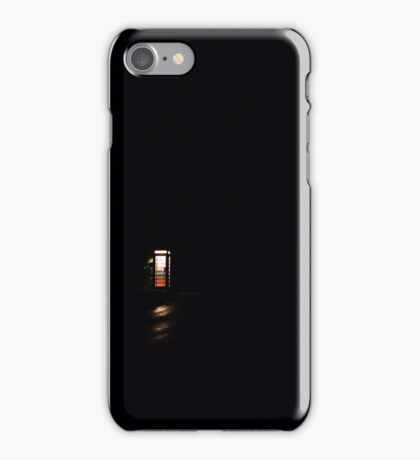 Lonely at night. iPhone Case/Skin