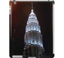 Silver Glow at Night III - Kuala Lumpur, Malaysia. iPad Case/Skin