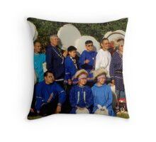 The Miracle Drummers Throw Pillow