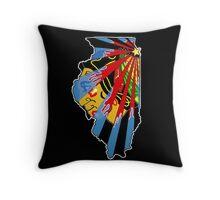 Illinois Blackhawks Throw Pillow
